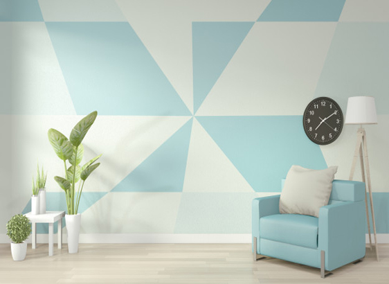 How Office Wall Painting will increase productivity by Softzone interior design companyin Qatar