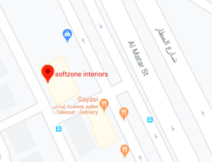 softzone interior design company in qatar map location