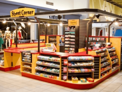 Unique Kiosk Designs to Improve your Business by Softzone Interior Design company in Qatar