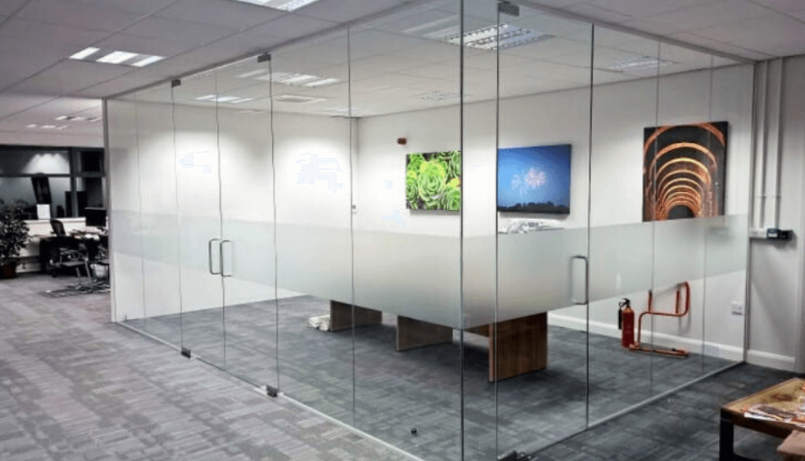 Office Partition Ideas to Enhance your Workspace by Softzone interior design company in Qatar