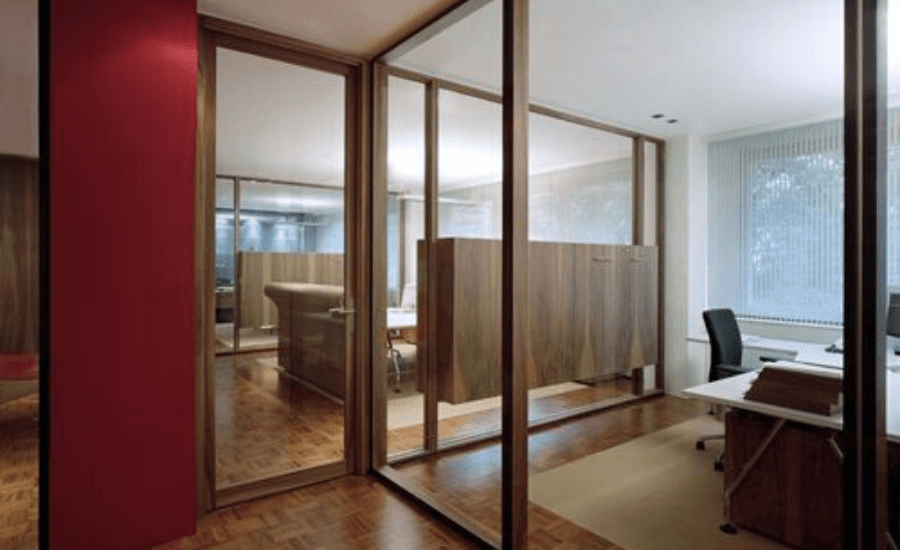 Choose The Perfect Office Partition Design For Your Office by sotzone interiors in Qatar