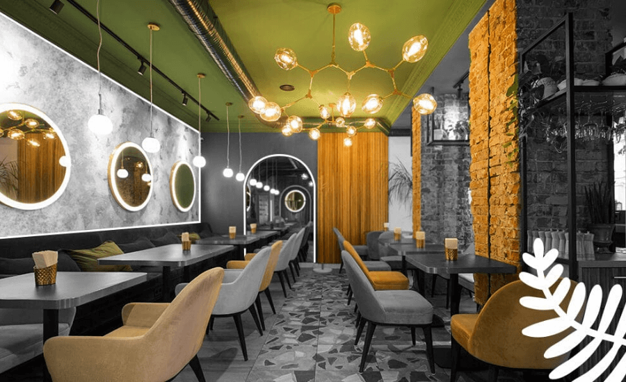 Best Restaurant Flooring Ideas to Improve Ambience by Softzone interior design company in Qatar